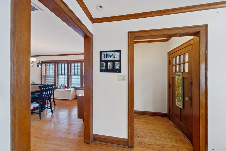 Real Estate Photography - 4042 N Springfield, Chicago, IL, 60618 - Unit 1 Entryway