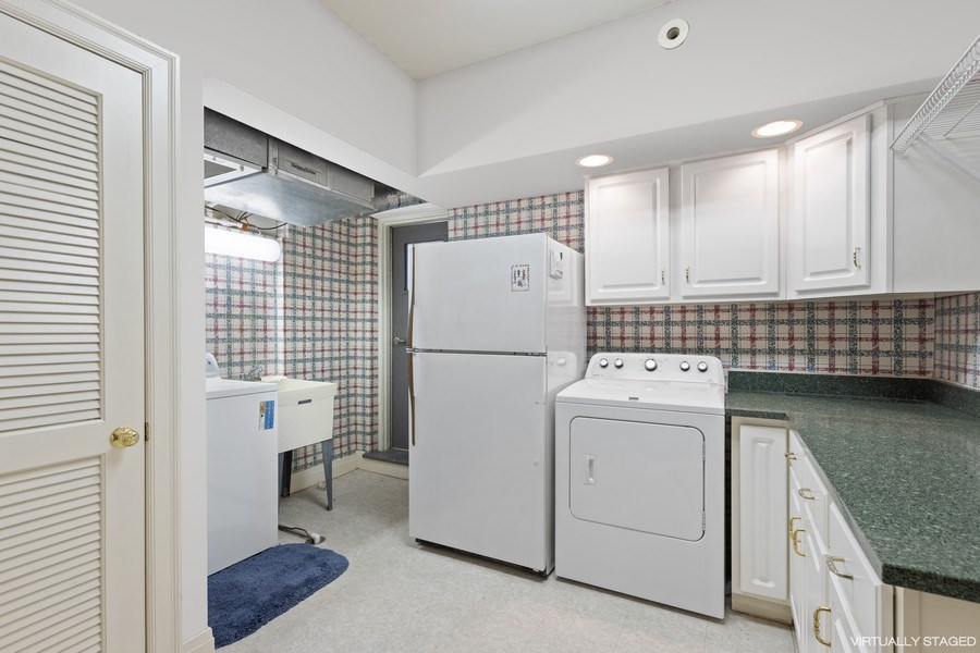 Real Estate Photography - 3300 N. Lake Shore Drive, Unit #6AB, Chicago, IL, 60657 - Laundry