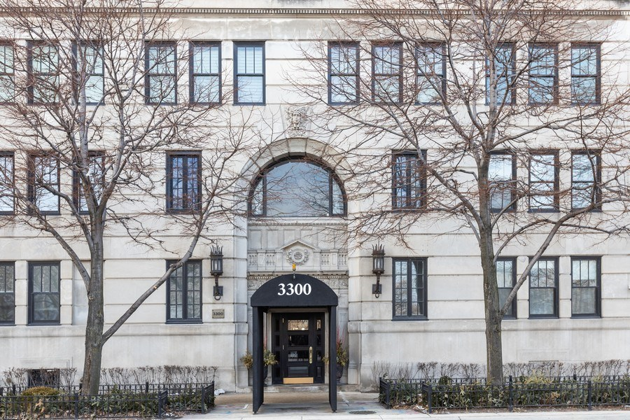 Real Estate Photography - 3300 N. Lake Shore Drive, Unit #6AB, Chicago, IL, 60657 - Entrance