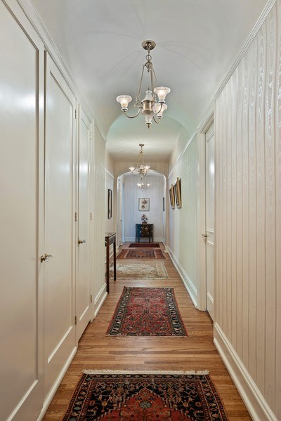 Real Estate Photography - 3300 N. Lake Shore Drive, Unit #6AB, Chicago, IL, 60657 - Hallway