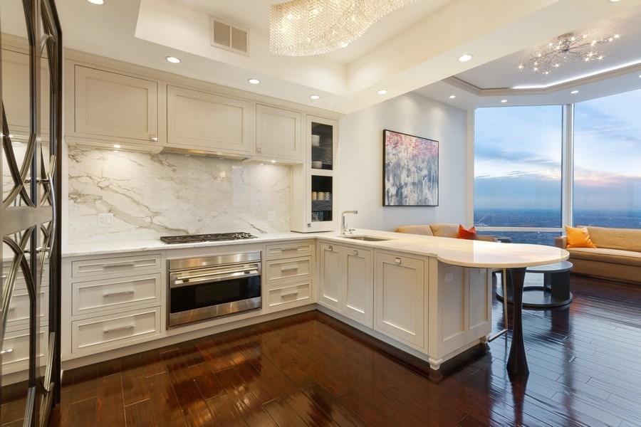 Real Estate Photography - 401 N Wabash unit 86B, Chicago, IL, 60611 - Kitchen