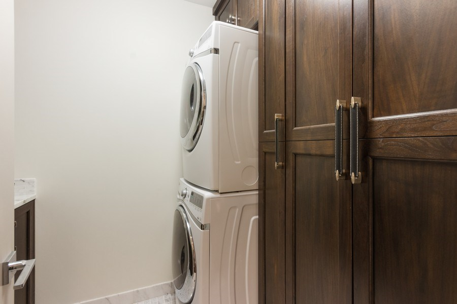 Real Estate Photography - 401 N Wabash unit 86B, Chicago, IL, 60611 - Laundry Room