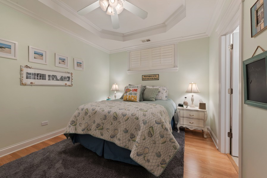 Real Estate Photography - 3731 N. Clifton Ave., #1, Chicago, IL, 60613 - 2nd Bedroom
