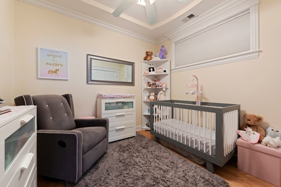 Real Estate Photography - 3731 N. Clifton Ave., #1, Chicago, IL, 60613 - 3rd Bedroom