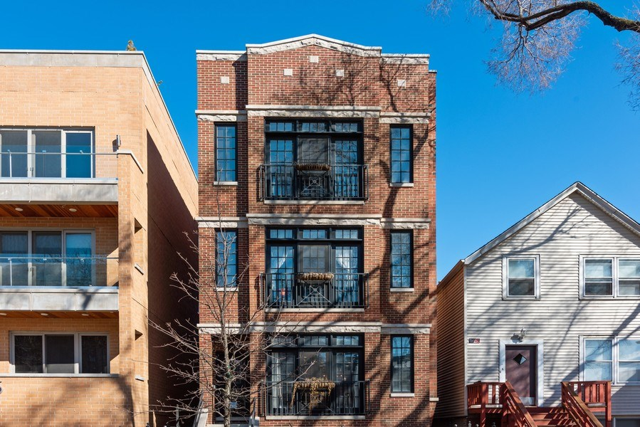 Real Estate Photography - 3731 N. Clifton Ave., #1, Chicago, IL, 60613 - Front View
