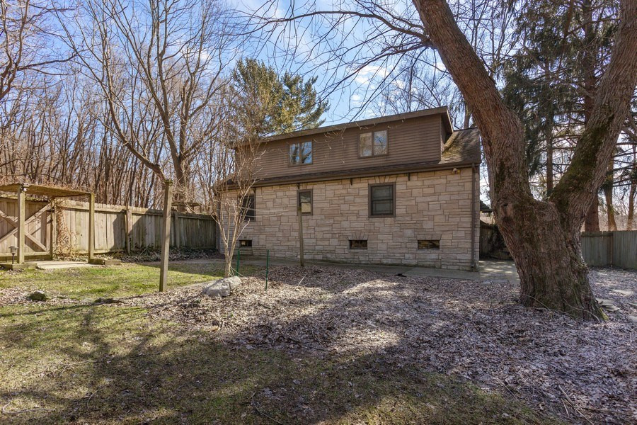 Real Estate Photography - 3081 West Marquette Woods, Stevensville, MI, 49127 - Rear View