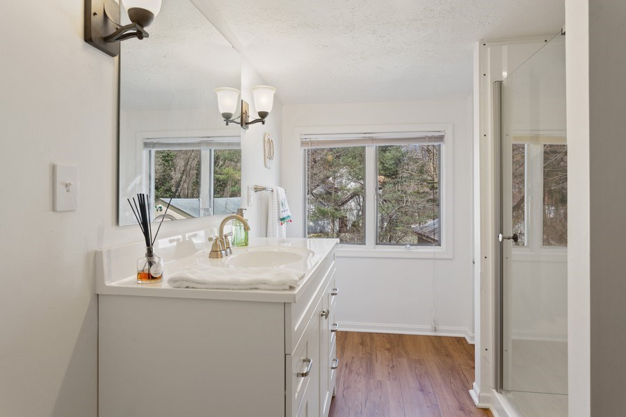 Real Estate Photography - 3081 West Marquette Woods, Stevensville, MI, 49127 - Bathroom