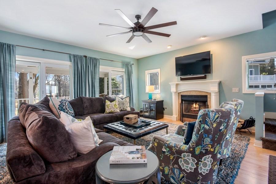 Real Estate Photography - 76514 Jordyn Lane, South Haven, MI, 49090 - Living Room