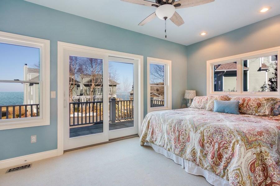 Real Estate Photography - 76514 Jordyn Lane, South Haven, MI, 49090 - Master Bedroom
