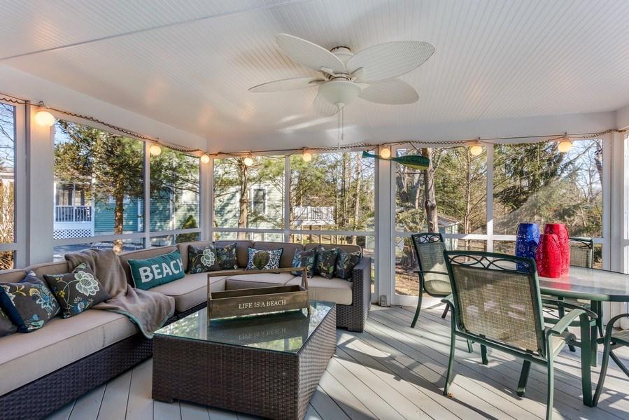 Real Estate Photography - 76514 Jordyn Lane, South Haven, MI, 49090 - Porch