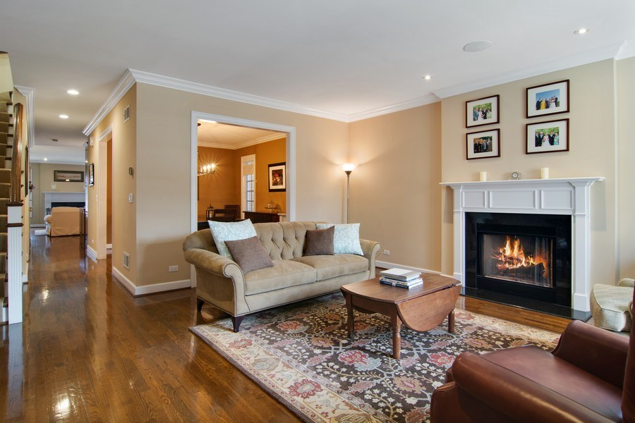 Real Estate Photography - 1729 N Maplewood Ave, Chicago, IL, 60647 - Living Room