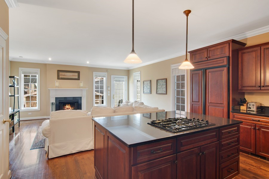 Real Estate Photography - 1729 N Maplewood Ave, Chicago, IL, 60647 - Family Room / Kitchen