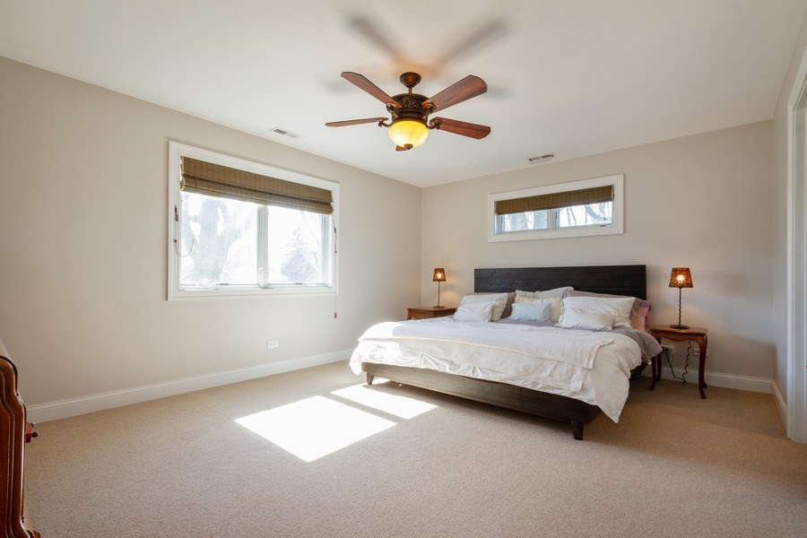 Real Estate Photography - 2108 Grant Street, Evanston, IL, 60201 - Master Bedroom