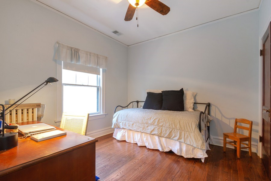Real Estate Photography - 2108 Grant Street, Evanston, IL, 60201 - 5th Bedroom