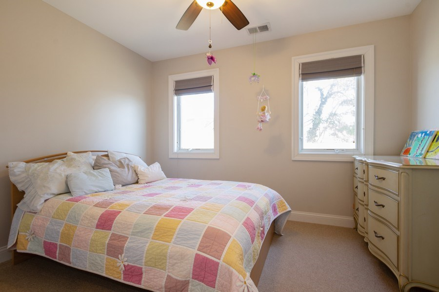 Real Estate Photography - 2108 Grant Street, Evanston, IL, 60201 - 4th Bedroom