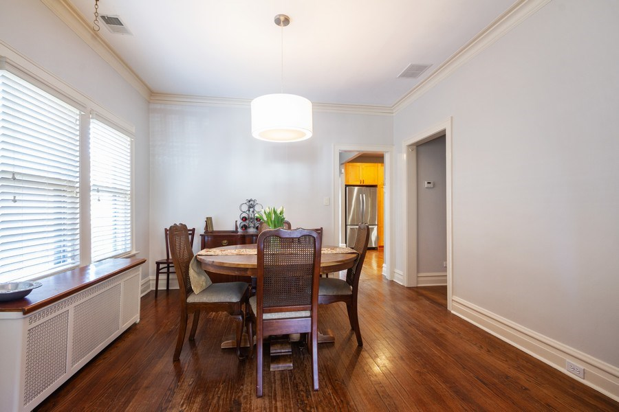 Real Estate Photography - 2108 Grant Street, Evanston, IL, 60201 - Dining Room