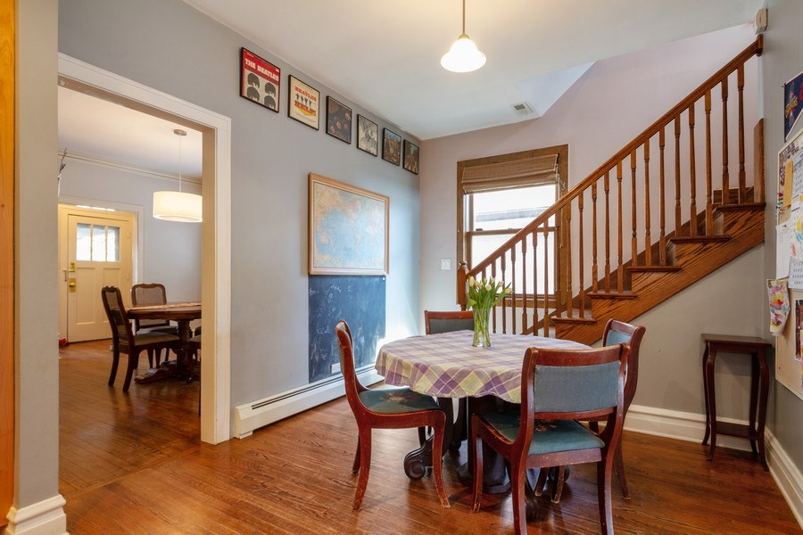 Real Estate Photography - 2108 Grant Street, Evanston, IL, 60201 - Breakfast Area
