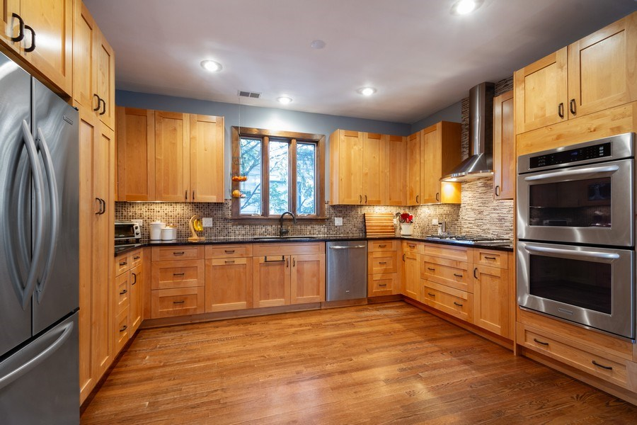 Real Estate Photography - 2108 Grant Street, Evanston, IL, 60201 - Kitchen