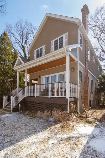 Real Estate Photography - 2108 Grant Street, Evanston, IL, 60201 - Front View