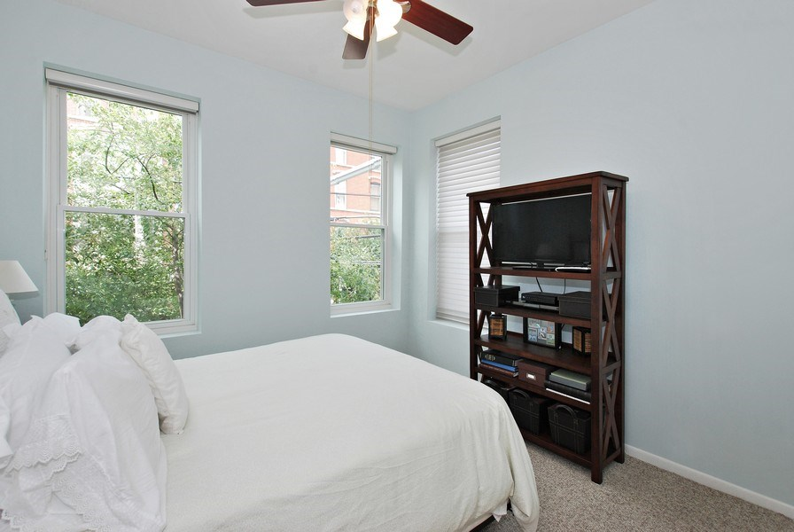 Real Estate Photography - 1217 W Webster, Chicago, IL, 60614 - 2nd Bedroom