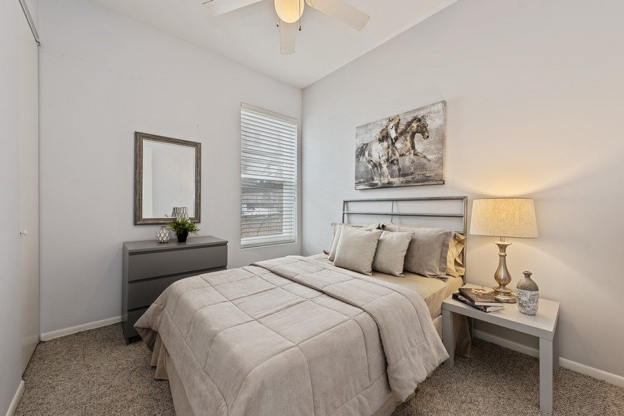 Real Estate Photography - 1217 W Webster, Chicago, IL, 60614 - 3rd Bedroom