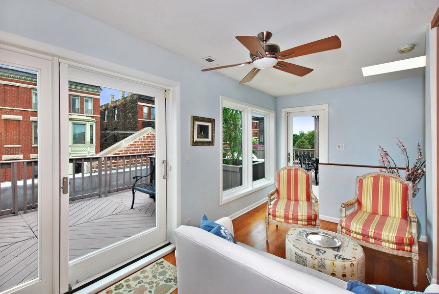 Real Estate Photography - 1217 W Webster, Chicago, IL, 60614 - Family Room