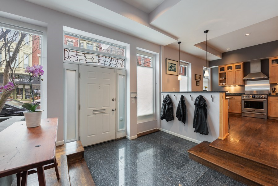 Real Estate Photography - 1217 W Webster, Chicago, IL, 60614 - Foyer