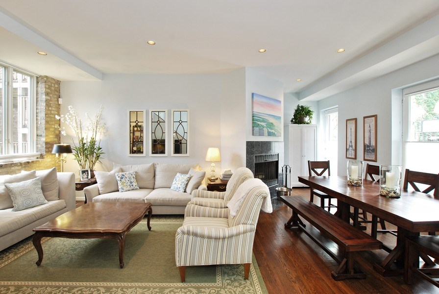 Real Estate Photography - 1217 W Webster, Chicago, IL, 60614 - Dining Area