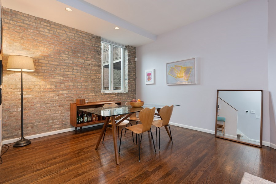 Real Estate Photography - 1217 W Webster, Chicago, IL, 60614 - Dining Room