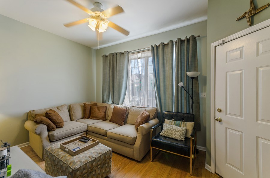 Real Estate Photography - 3642 S Union Ave, Chicago, IL, 60609 - First Floor Living Room