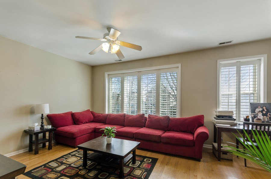 Real Estate Photography - 3642 S Union Ave, Chicago, IL, 60609 - Second Floor Living Room - Light Filled!