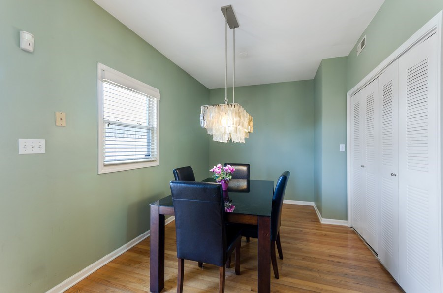 Real Estate Photography - 3642 S Union Ave, Chicago, IL, 60609 - Dining Area - Second Floor
