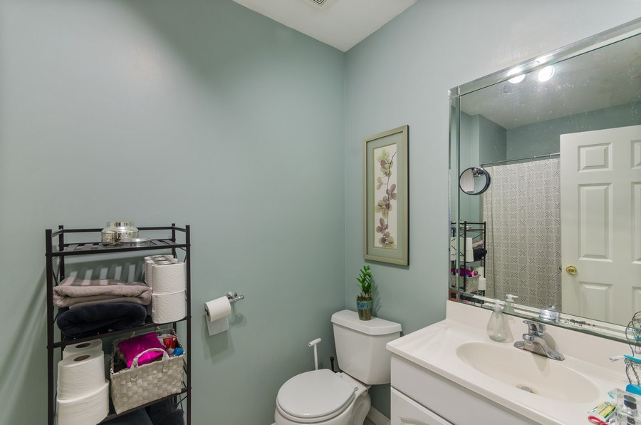 Real Estate Photography - 3642 S Union Ave, Chicago, IL, 60609 - First Floor Bathroom