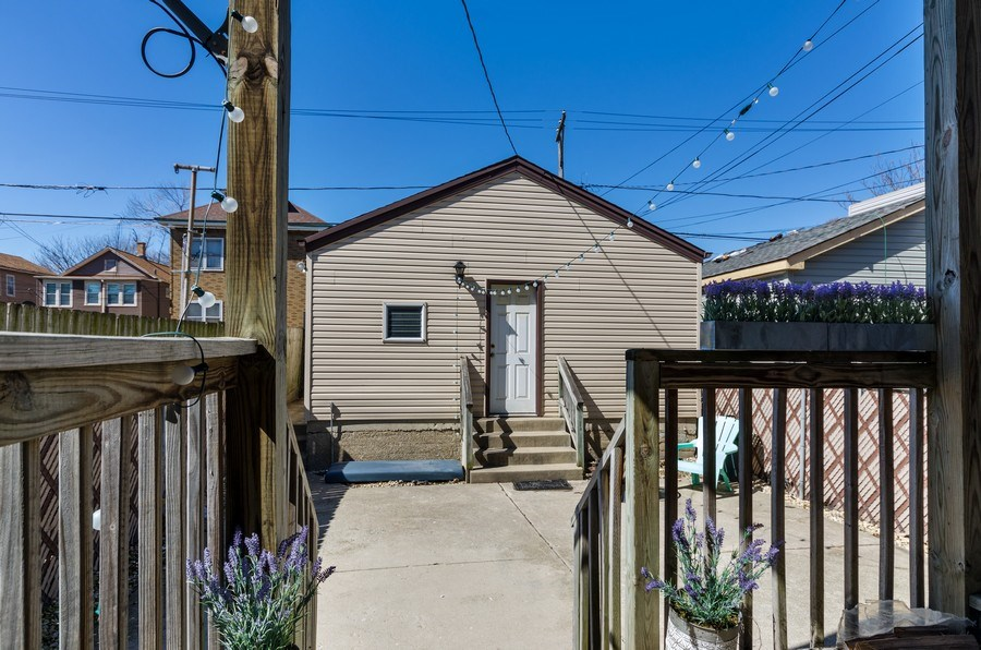 Real Estate Photography - 3642 S Union Ave, Chicago, IL, 60609 - 2 Car Garage & Great Outdoor Entertaing area!