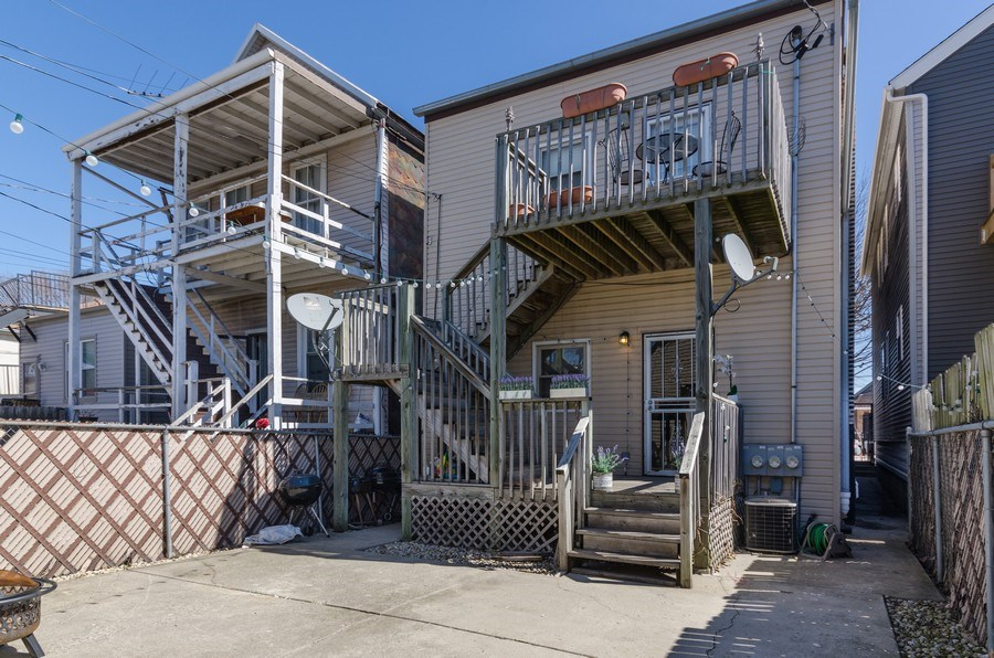 Real Estate Photography - 3642 S Union Ave, Chicago, IL, 60609 - Rear View of Property