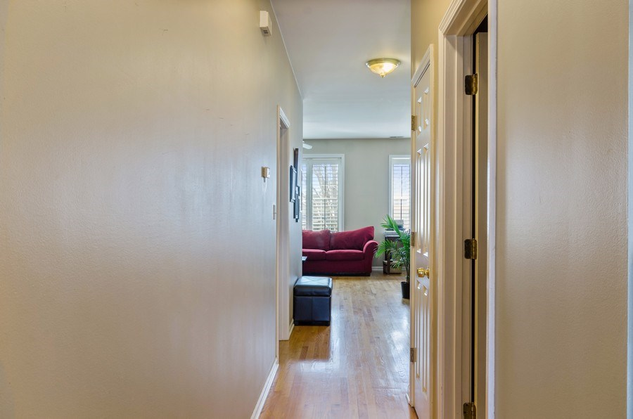 Real Estate Photography - 3642 S Union Ave, Chicago, IL, 60609 - Second Floor Hallway