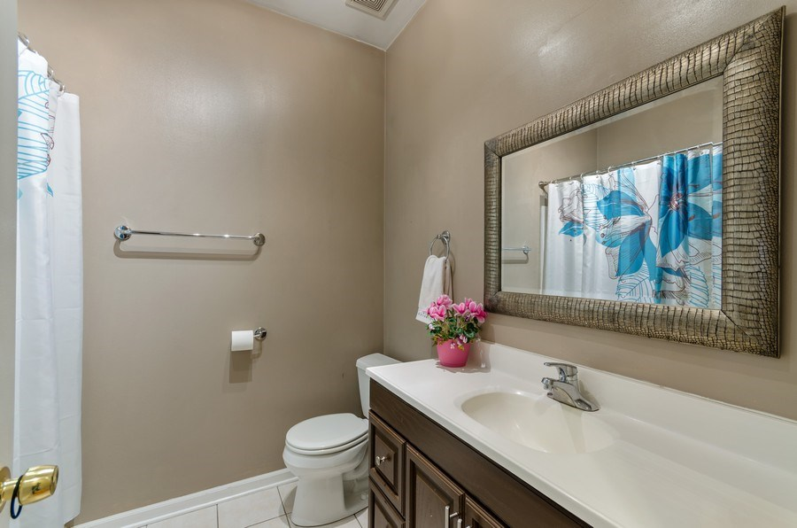 Real Estate Photography - 3642 S Union Ave, Chicago, IL, 60609 - Second Floor Bathroom