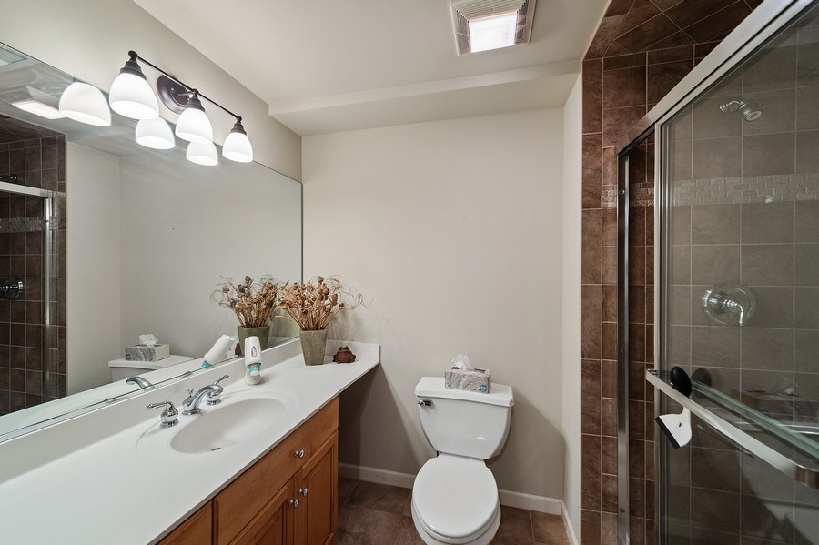 Real Estate Photography - 669 Buena Vista Dr, Glen Ellyn, IL, 60137 - Bathroom