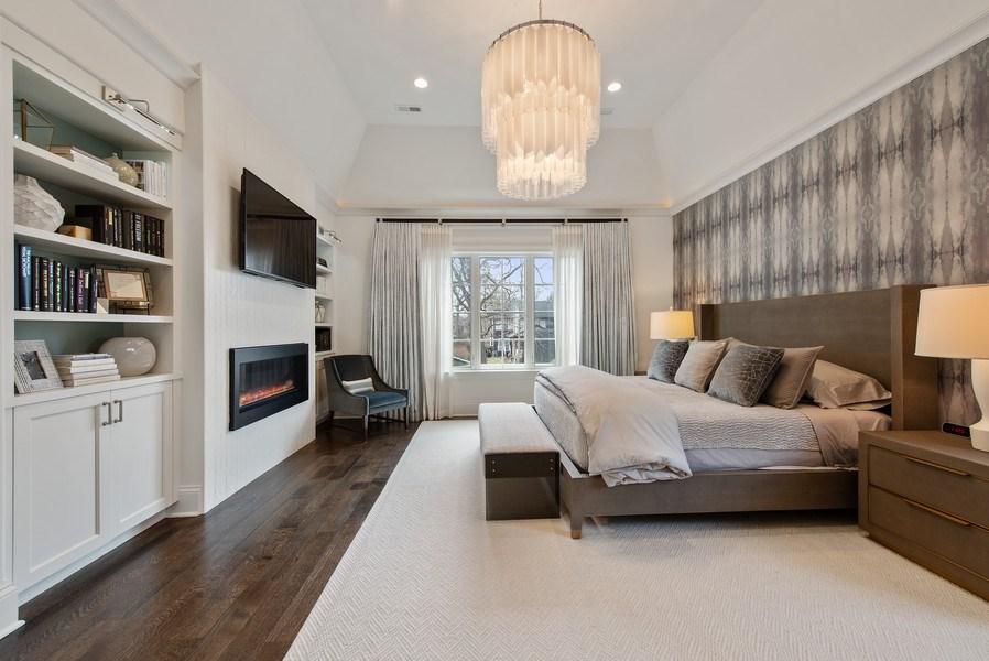Real Estate Photography - 310 Myrtle St., Winnetka, IL, 60093 - Master Bedroom