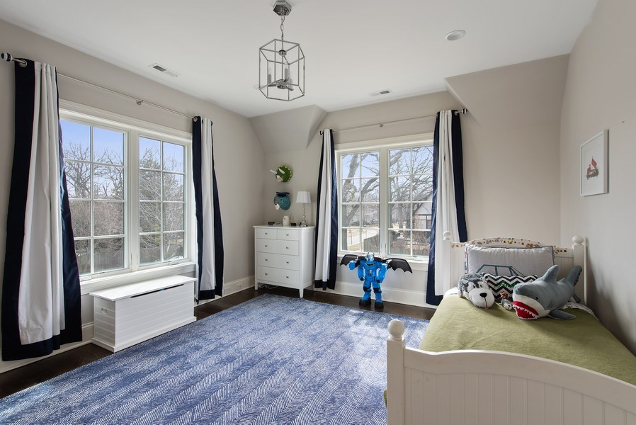 Real Estate Photography - 310 Myrtle St., Winnetka, IL, 60093 - 4th Bedroom