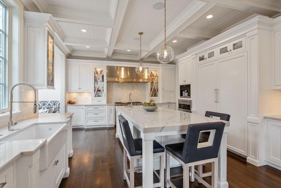 Real Estate Photography - 310 Myrtle St., Winnetka, IL, 60093 - Kitchen