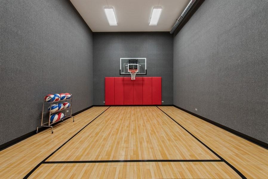 Real Estate Photography - 310 Myrtle St., Winnetka, IL, 60093 - Basketball Court