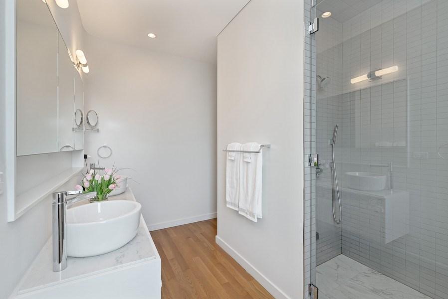 Real Estate Photography - 836 W Hubbard St, Unit 502, Chicago, IL, 60642 - Master Bathroom