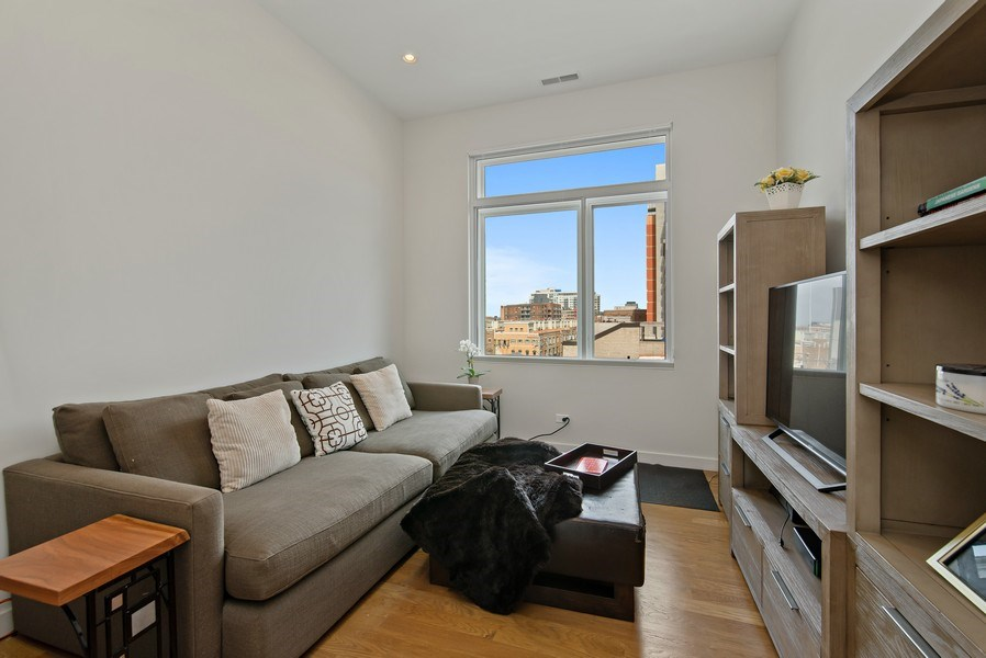 Real Estate Photography - 836 W Hubbard St, Unit 502, Chicago, IL, 60642 - 3rd Bedroom
