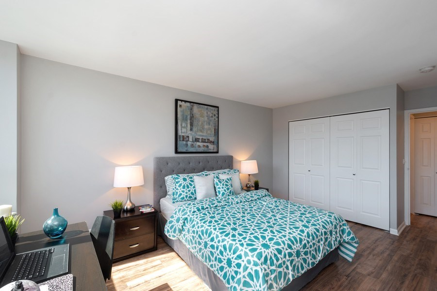 Real Estate Photography - 88 W Schiller St, Unit 1906, Chicago, IL, 60610 - Bedroom