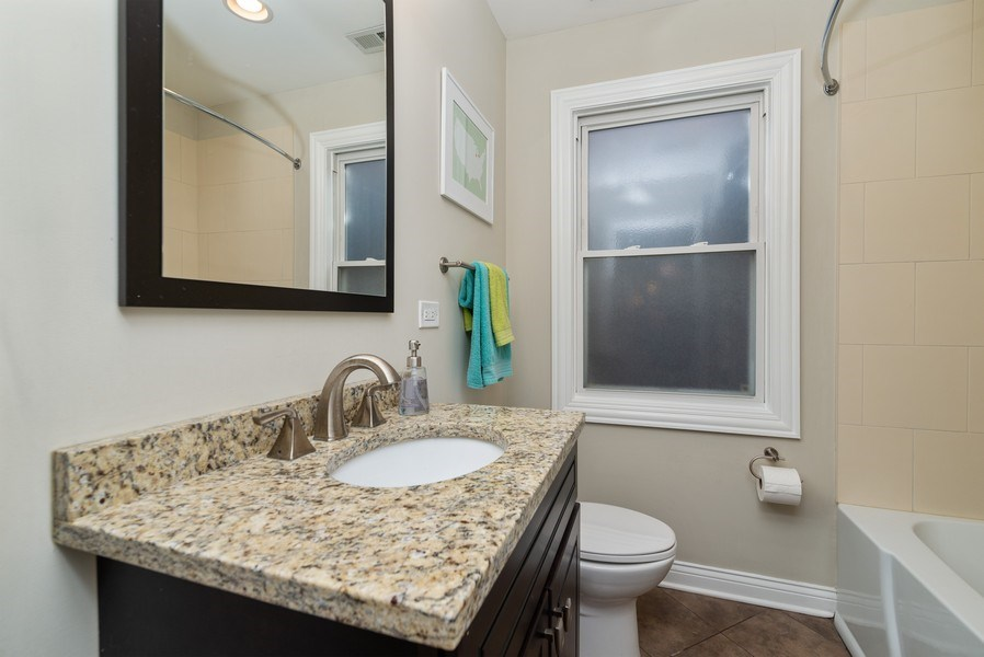 Real Estate Photography - 4825 N Ridgeway Ave, Chicago, IL, 60625 - 3rd Bathroom