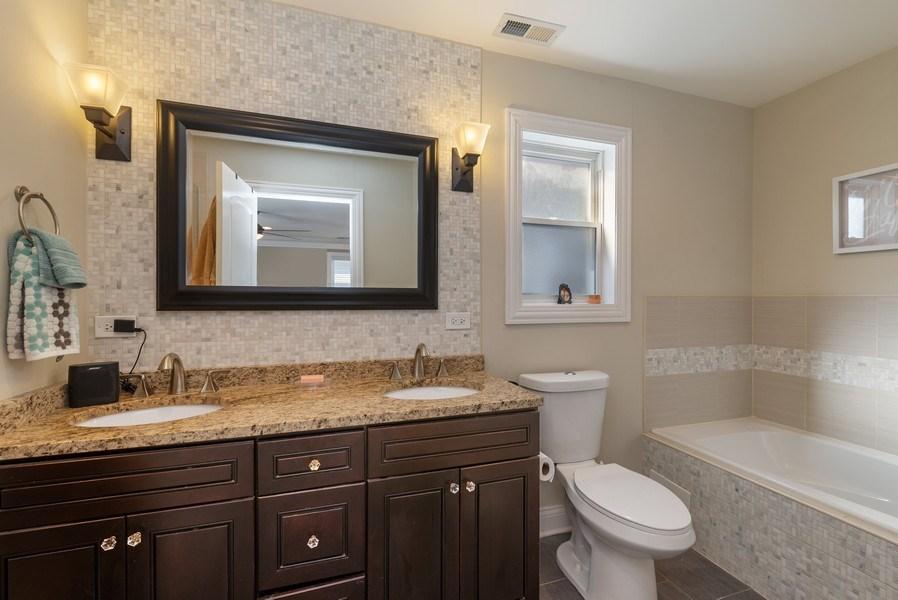 Real Estate Photography - 4825 N Ridgeway Ave, Chicago, IL, 60625 - Master Bathroom