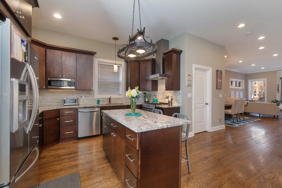 Real Estate Photography - 4825 N Ridgeway Ave, Chicago, IL, 60625 - Kitchen