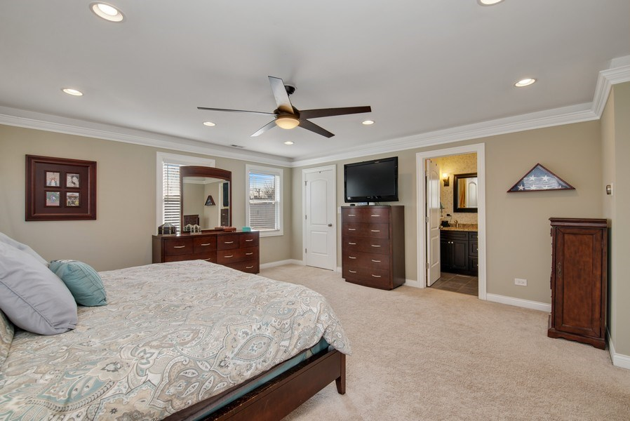 Real Estate Photography - 4825 N Ridgeway Ave, Chicago, IL, 60625 - Master Bedroom