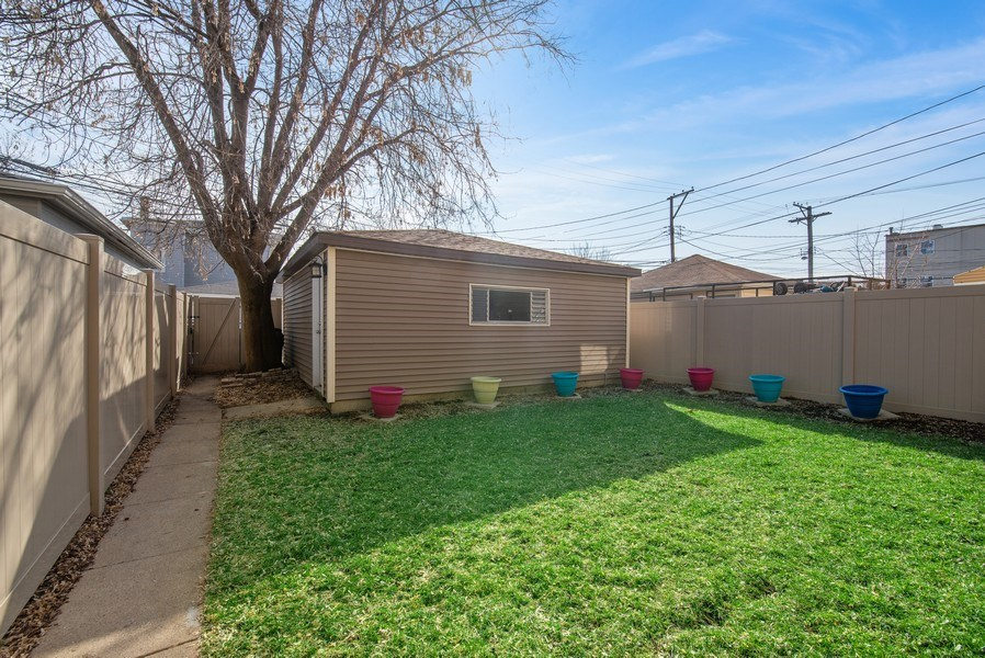 Real Estate Photography - 4825 N Ridgeway Ave, Chicago, IL, 60625 - Back Yard